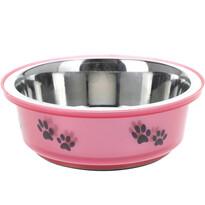 Miska pre psa ružová, 400 ml