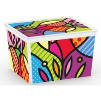 KIS Dekoračný úložný box C-Box Style Artists CUBE, 27 l