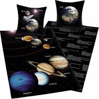 Bavlnené obliečky Vesmír, 140 x 200 cm, 70 x 90 cm