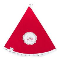 Kuchyňská utěrka kruh Alice červená, pr. 70 cm