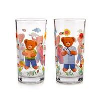 2-dielna sada detských pohárov Medvedík 220 ml