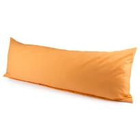 4Home obliečka na Relaxačný vankúš Náhradný manžel oranžová, 50 x 150 cm
