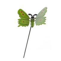 Dekorace motýlek, zelená