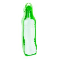 Zvířecí cestovní láhev s miskou Puppy, zelená