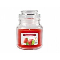 Lumânare aromată borcan Căpșună, 120 groșu,