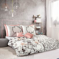 Veba Saténové obliečky GEON Her, 140 x 200 cm, 70 x 90 cm
