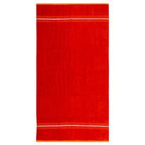 Fresh Feeling strandtörölköző piros, 90 x 170 cm