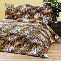 4Home bavlnené obliečky Leopard, 220 x 200 cm, 2 ks 70 x 90 cm