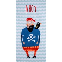 Plážová osuška Ahoj Pirate, 70 x 140 cm