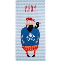 Ręcznik plażowy Ahoy Piracie, 70 x 140 cm