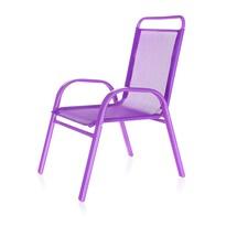 Happy Green Krzesełko ogrodowe dziecięce fioletowy