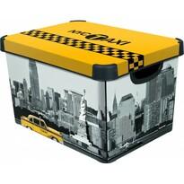 Curver  NEW YORK úložný box dekorativní  velký