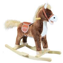 Bino Hojdací kôň hnedá stredný