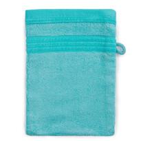 Bambusz mosdókendő kék, 14 x 22 cm