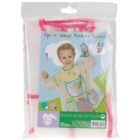 Detská zástera na maľovanie Pockets, ružová