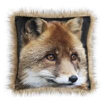 SAFARI Róka kispárna, 45 x 45 cm