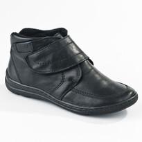 Orto Plus Dámská obuv na suchý zip zimní veľ. 36 čierna