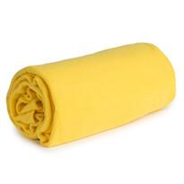 Koc polarowy Sweety Calme żółty, 130 x 170 cm