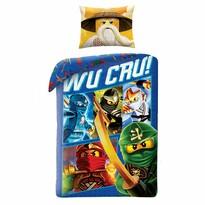 Dziecięca pościel bawełniana Lego Wu Cru!, 140 x 200 cm, 70 x 90 cm
