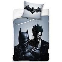 Lenjerie de pat, din bumbac, Batman black, 140 x 200 cm, 70 x 90 cm