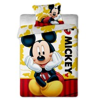 Detské bavlnené bavlnené obliečky Mickey 2015, 140 x 200 cm, 70 x 90 cm