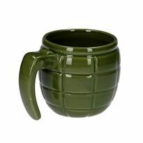 Cană în formă de grenadă