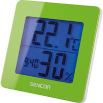Sencor 15GN Teploměr/vlhkoměr, zelená