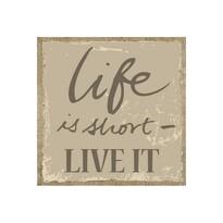 Obraz Life, béžová