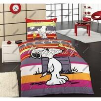 Matějovský detské bavlnené obliečky Snoopy promenade, 140 x 200 cm, 70 x 90 cm
