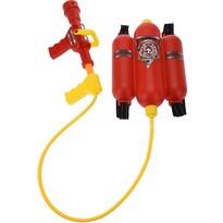 Detský hasiaci prístroj na chrbát, červená