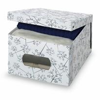 Domopak Living Pudełko do przechowywania z oknem , 39 x 50 x 24 cm