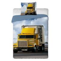 Bavlnené obliečky Kamion, 140 x 200 cm, 70 x 90 cm