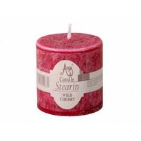 Stearínová sviečka Capri Čierne ríbezle, 5 cm