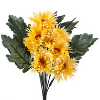 Sztuczny wiązanka gerbery żółta