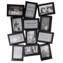 Ramka Marion na 12 zdjęć, czarny