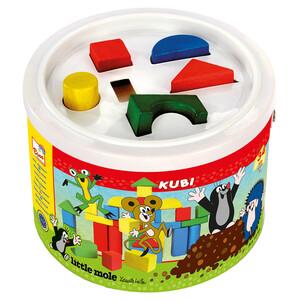 Bino Kostky Krtek v kbelíku