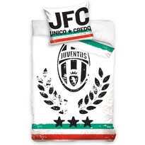 Bavlněné povlečení FC Juventus Vittoria, 140 x 200 cm, 70 x 80 cm