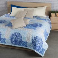 Cuvertură de pat Ottorino albastră