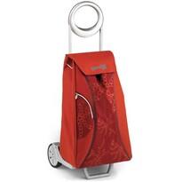 Gimi Market Queen nákupná taška na kolieskach červená