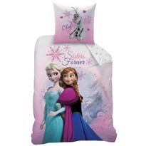 CTI Dziecięca pościel bawełniana Frozen Pink Mount, 140 x 200 cm, 70 x 90 cm
