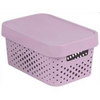 Curver úložný box Infinity 4,5 l, růžová