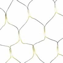DecoKing Kurtyna świetlna ciepła biała, 200 LED
