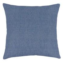Poduszka-jasiek Ivo UNI płócienna niebieski, 45 x 45 cm