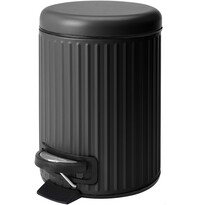 Kosmetický odpadkový koš Line, černá