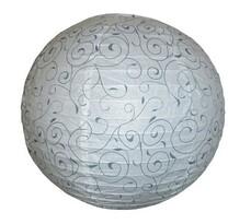 Lampa wisząca Harmony / biały, wzór