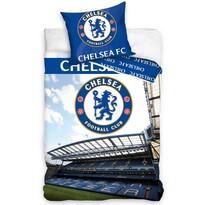 Bavlněné povlečení Chelsea FC Stadion, 140 x 200 cm, 70 x 80 cm