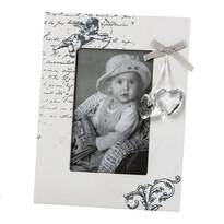 Fotorámček Amore biela