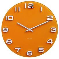 Karlsson 5640YE zegar ścienny, 35 cm