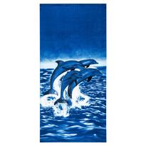 Plážová osuška Delfíni, 70 x 150 cm