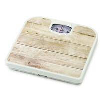 Osobní mechanická váha Plank Maple, bílá